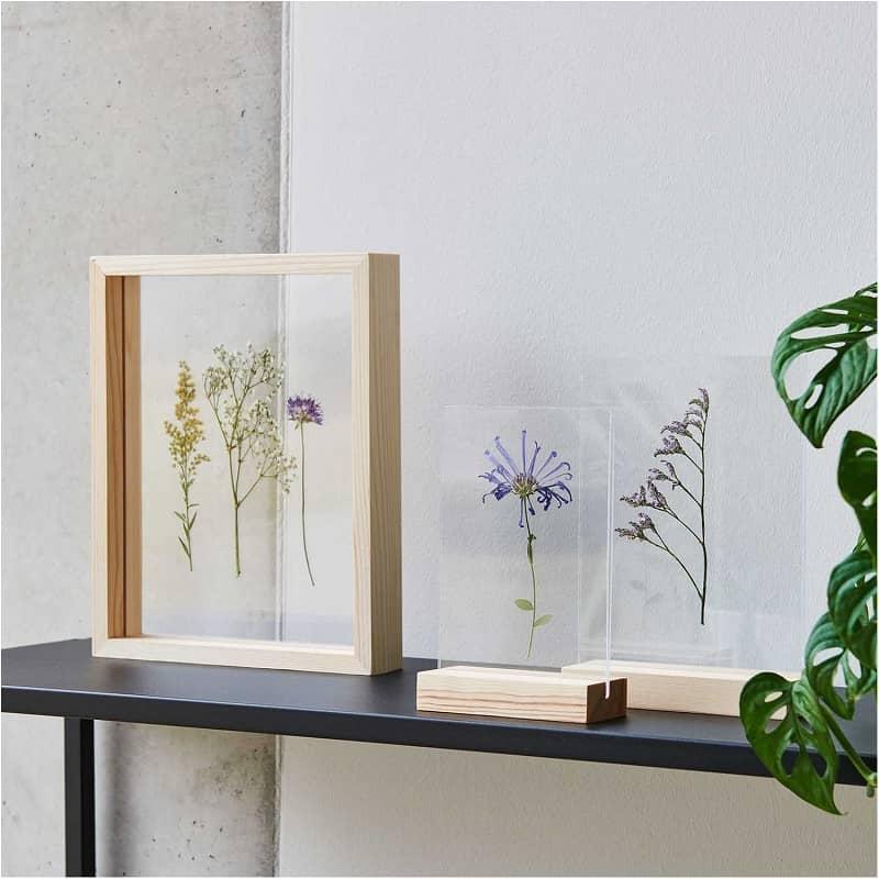 cadre-support-bois-et-acrylique-decoration-nature