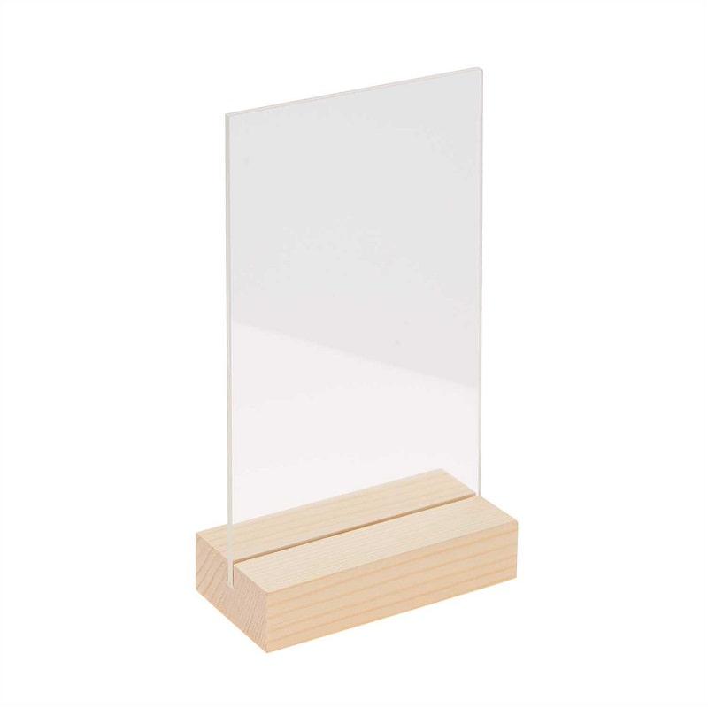 cadre-support-bois-et-acrylique